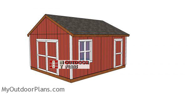 16x18-Gable-shed-plans