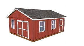 20×24 Shed Plans – Free PDF Download