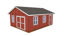 20x24 Shed Plans