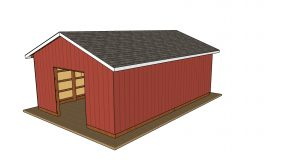 20×30 Pole Barn – Free DIY Plans