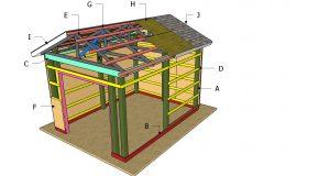 12×16 Pole Barn Roof Plans