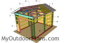 Build a 12x16 pole barn