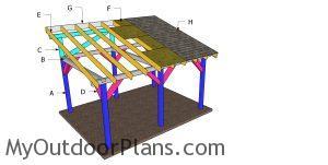 Building a 12x16 lean to pavilion
