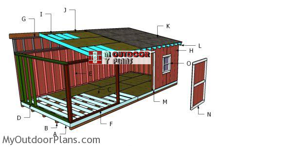 Building-a-12x24-lean-to-shed