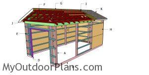 Building a 12x24 pole barn