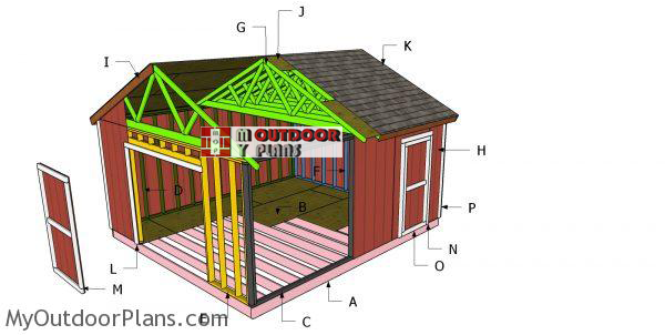 Building-a-16x18-shed