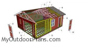 Building a 20x24 shed