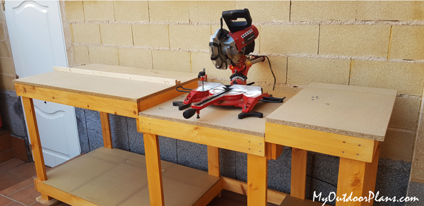 DIY Project - Miter Saw Station