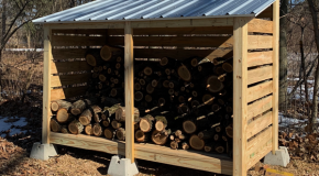 DIY Project – Firewood Storage Shed