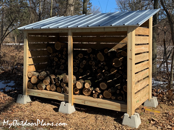 DIY Project - Firewood Storage Shed