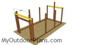 Front and back truss carriers