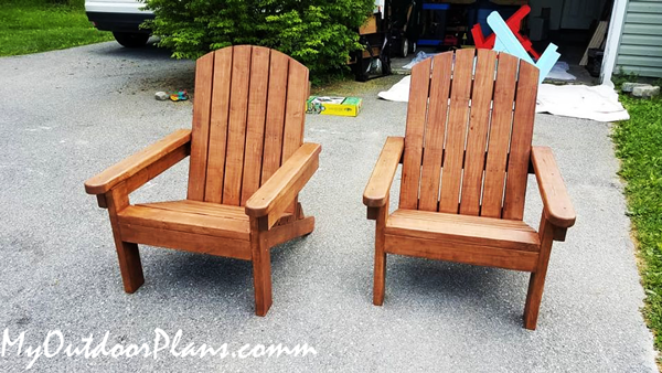 DIY Project - Adirondack Chair from 2x4s