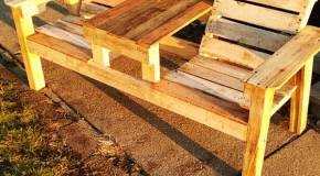 DIY Project – Outdoor Double Chair with Pallets