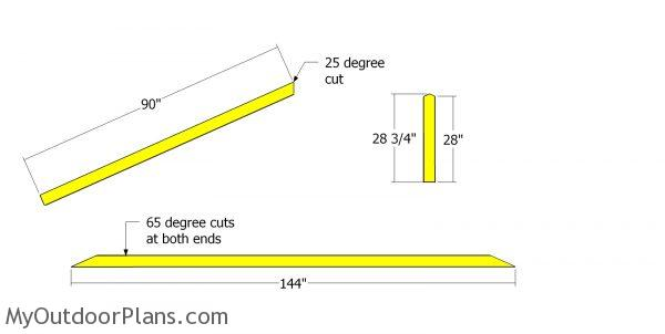 Rafters - 12 ft truss