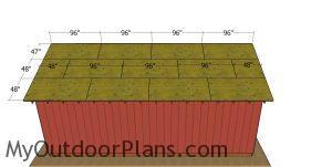 Roof sheets - 20x30 pole barn