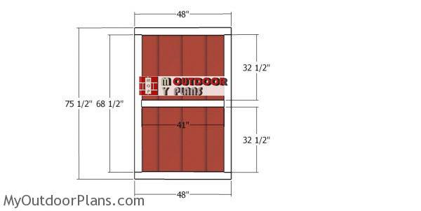 Shed-door