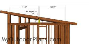 Side roof supports