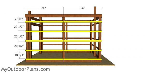 Side wall supports