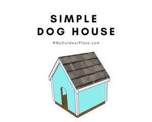 Simple dog house