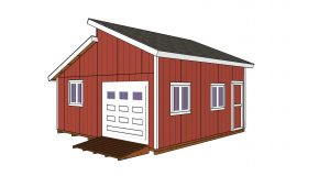 20×20 Clerestory Shed – Free Shed Plans and Drawings