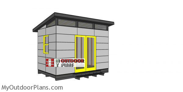 8x12-modern-office-shed-plans
