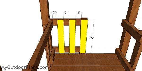 Balusters 2 - short tower