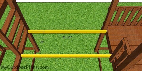 Bridge frame rails