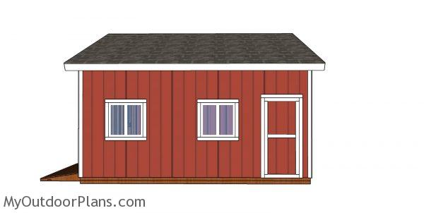Build a 20x20 Clerestory Shed Plans