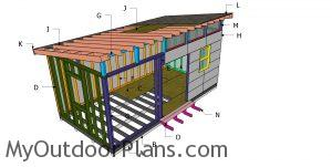 Building a 10x20 modern office shed