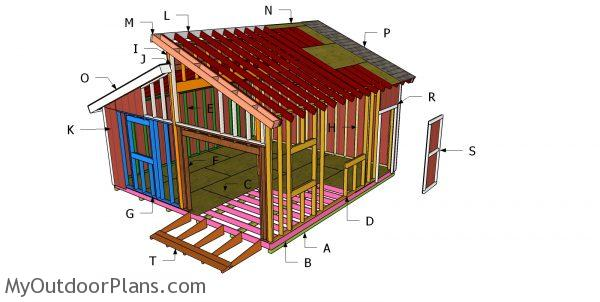 Building a 20x20 clerestory shed