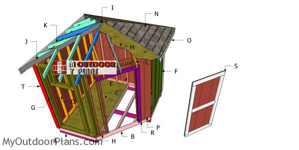 Building-a-8x8-corner-shed