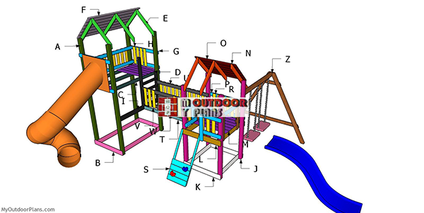 Building-a-playset-with-slides