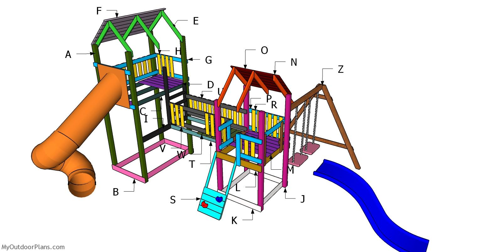 Kids Playset Plans - PART 2