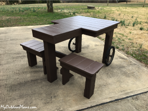 Building-a-shooting-bench-DIY