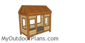 Cabin Bed Plans - Twin Size - MOP