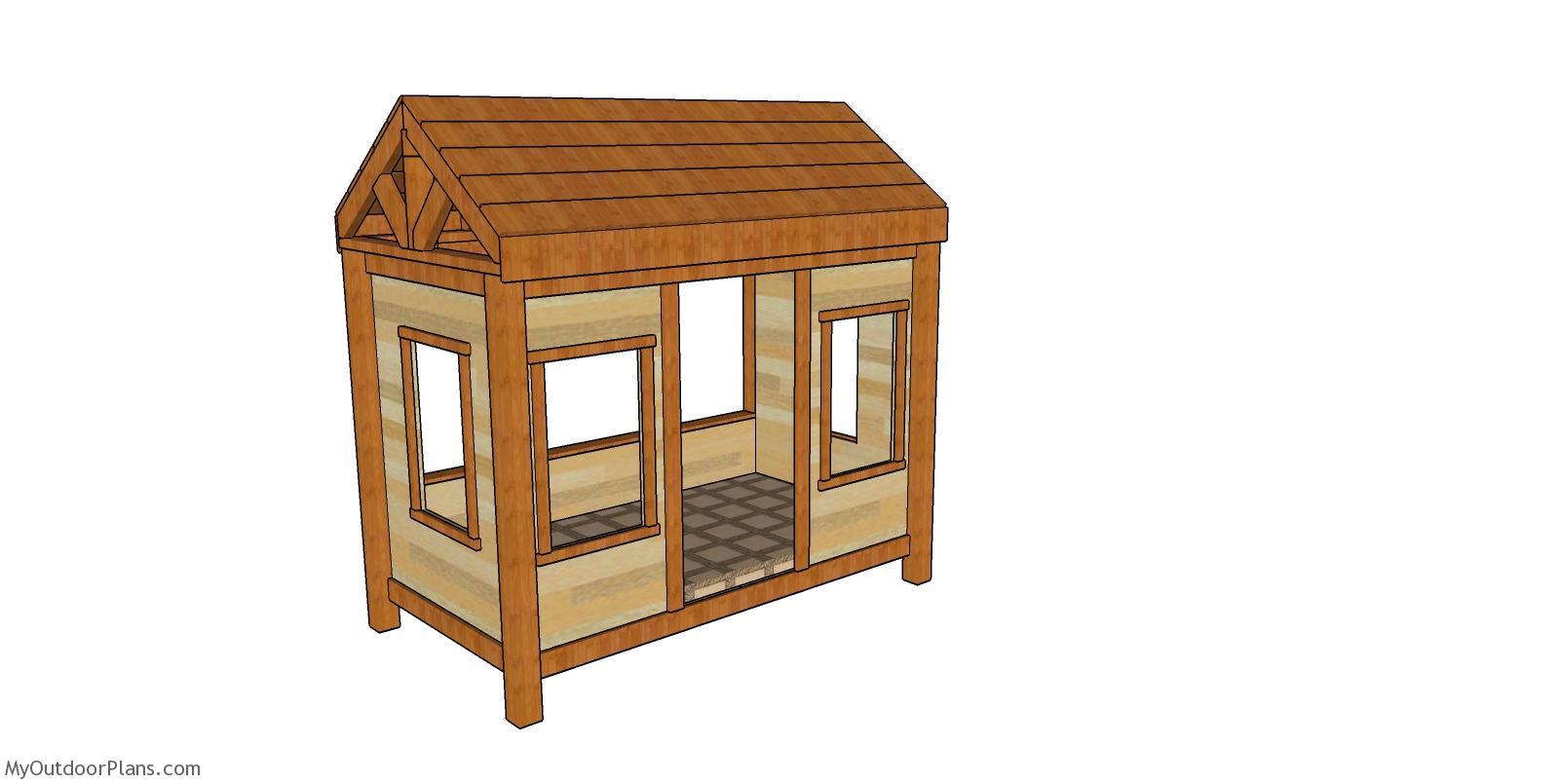 Wood Cabin Bed - Free DIY Plans