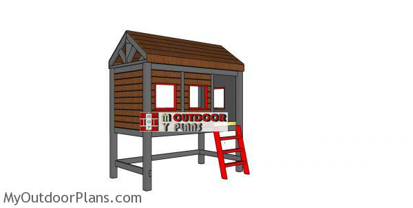 Cabin-twin-bed-plans