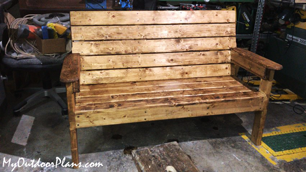DIY Project - Garden Bench