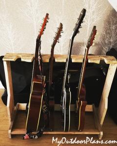 DIY-Wooden-Guitar-Stand