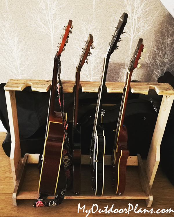 DIY Project - Wood Guitar Stand