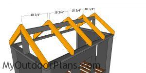 Fitting the rafters - high cabin bed