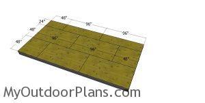 Floor sheets - 10x20 office