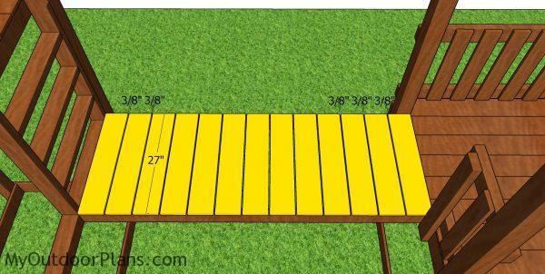 Floor slats - bridge