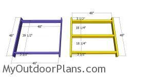 Frames for short tower