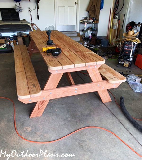 DIY Project - 8 Foot Picnic Table