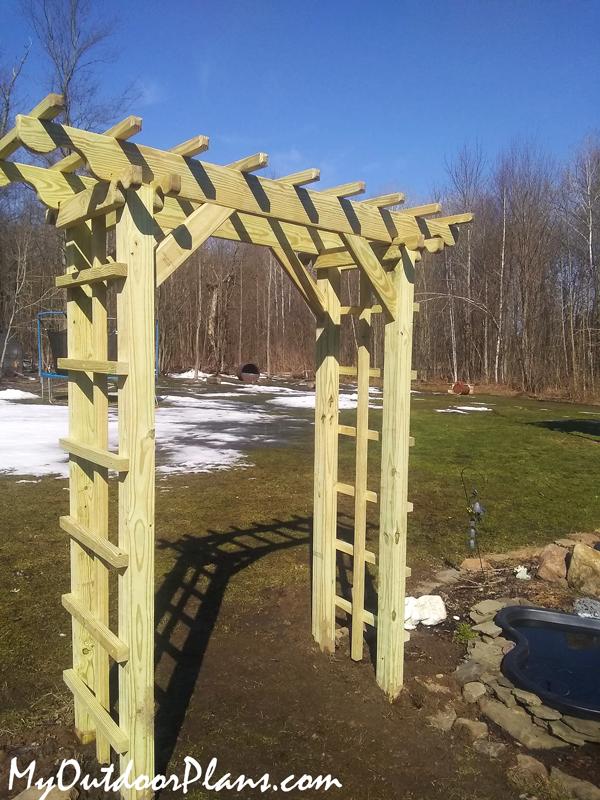 How-to-build-a-garden-arbor