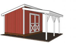 How to Add a Porch to a Shed