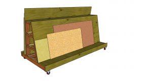 Mobile Wood Cart – Free DIY Plans
