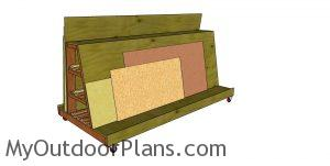 Mobile wood cart plans