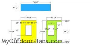 Panels for cabin bed